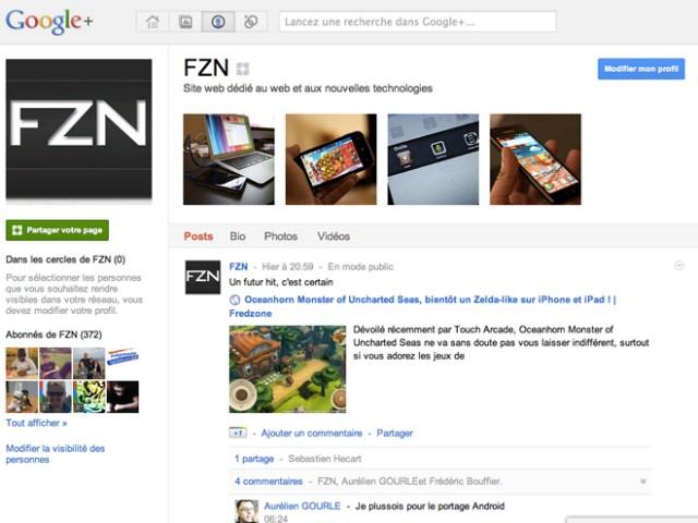 Pages Google+ : la gestion multi-administrateurs pour le premier trimestre 2012