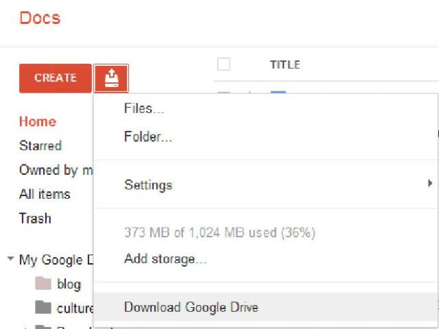 Google Drive : une nouvelle preuve de son existence