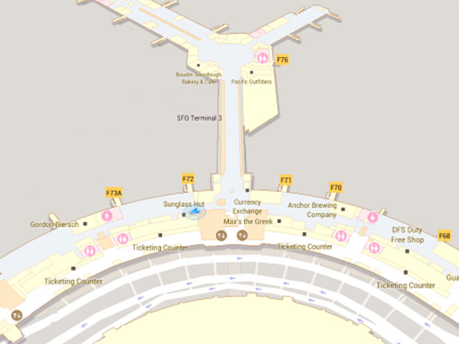 Google Maps 6.0 pour Android : les plans intérieurs font leur entrée