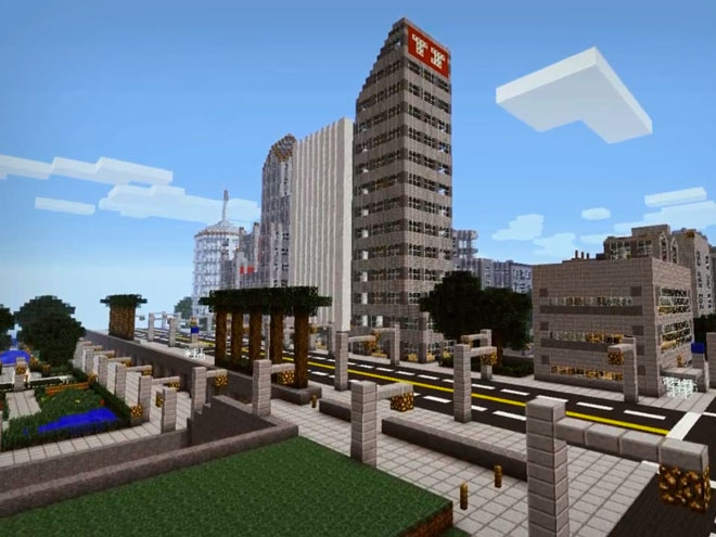 Grand Theft Minecart, le trailer de GTA 5 à la sauce Minecraft