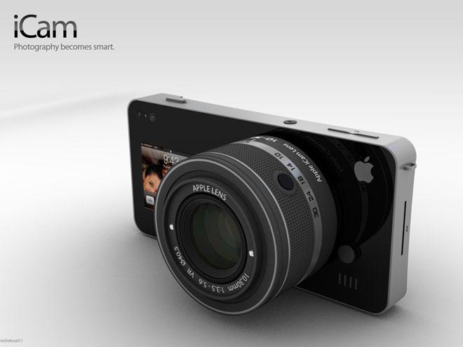 iCam, pour transformer un iPhone en appareil photo numérique