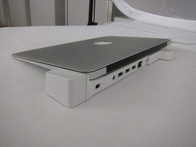 LandingZone, un concept de station d'accueil pour MacBook Air