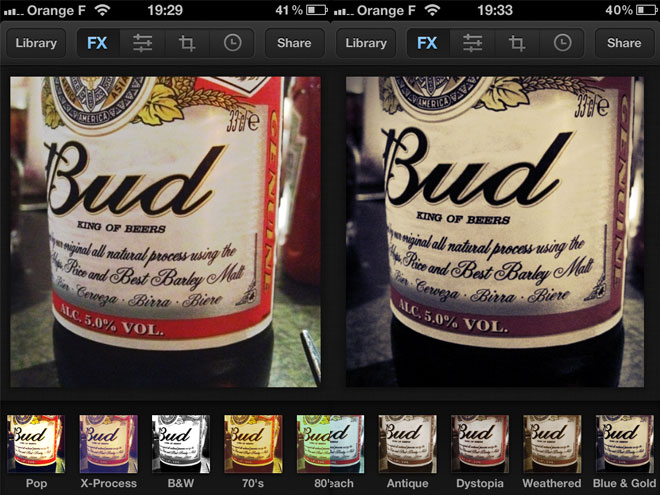 Luminance, encore une application pour retoucher ses photos sur iPhone et iPad