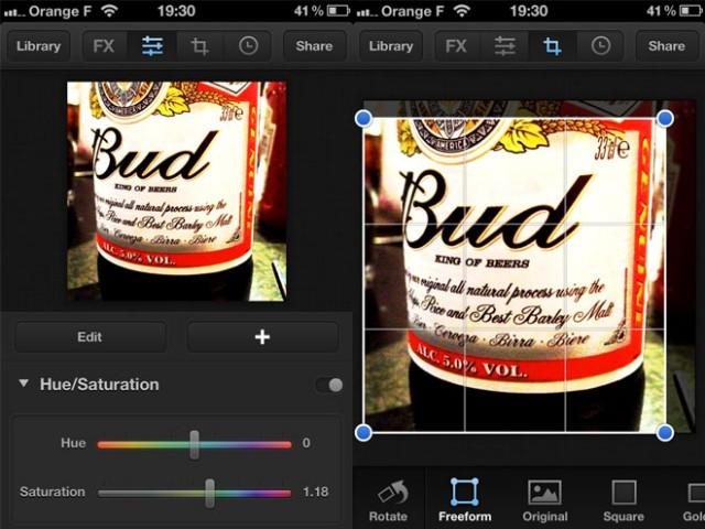 Luminance, encore une application pour retoucher ses photos sur iPhone et iPad
