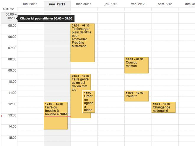Google Agenda : masquer certains horaires, c'est possible !