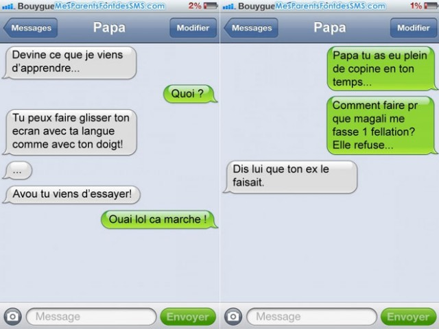 Favori Mes Parents font des SMS ZK92
