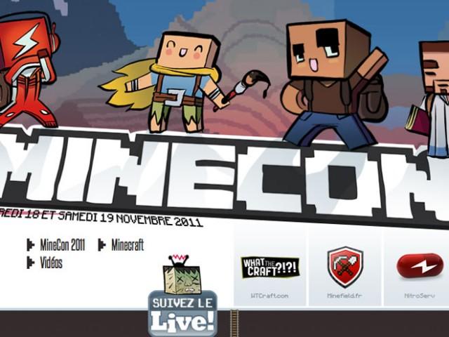 MineCon, la conférence dédiée à Minecraft
