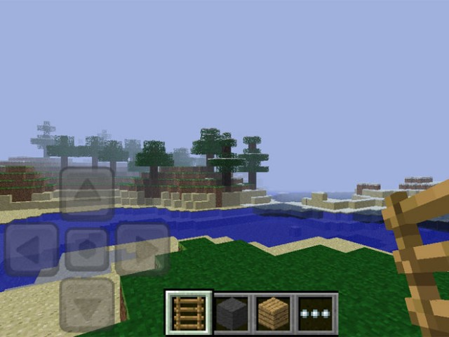 Minecraft Pocket est disponible sur iPhone et iPad