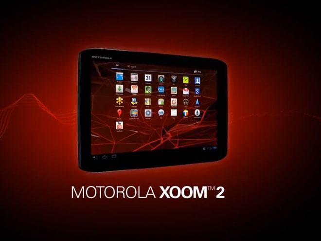 La Motorola Xoom 2 est officielle !