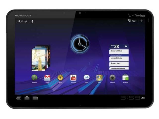 Motorola Xoom 2 : écran de 8.2 pouces, prix de vente à 400 €