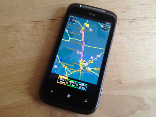 Test : Navigon Europe pour Windows Phone 7