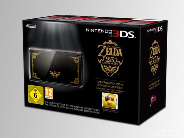 Une édition spéciale de la Nintendo 3DS pour les 25 ans de Zelda