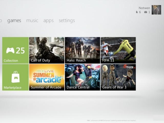Le nouveau dashboard de la Xbox 360 arrive le 6 décembre
