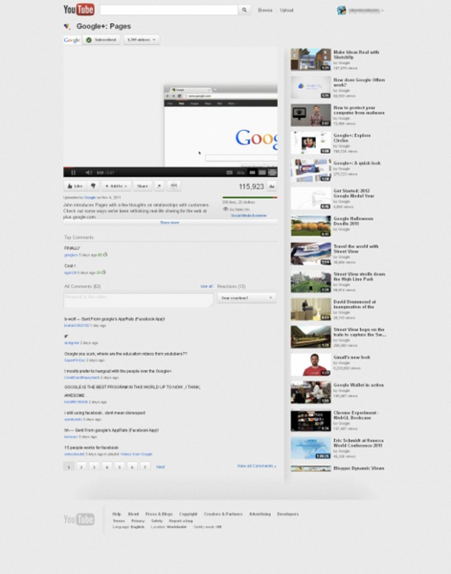 YouTube : bientôt une nouvelle version