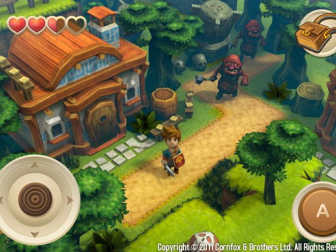 Oceanhorn Monster of Uncharted Seas, bientôt un Zelda-like sur iPhone et iPad !