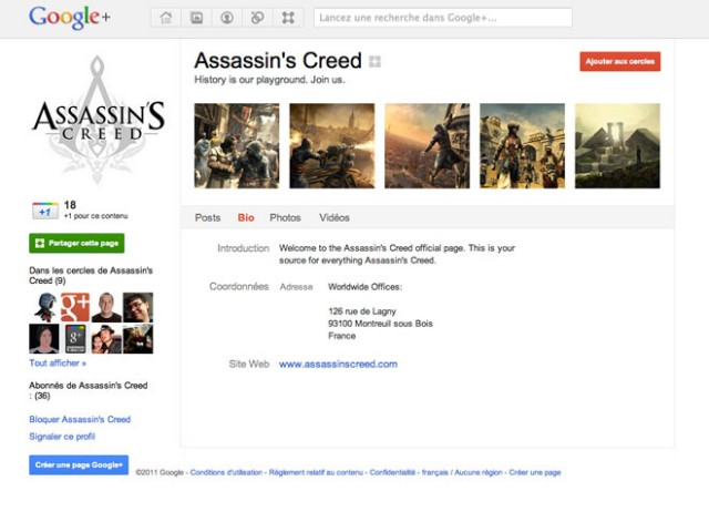 Les pages Google+ sont arrivées, mais pas pour tout le monde !