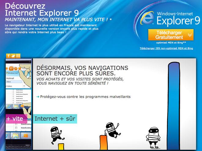 Internet Explorer passe sous la barre des 50 % de parts de marché. Ou pas.