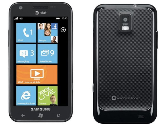 Microsoft officialise le Samsung Focus S