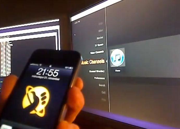 Siri peut aussi lancer des vidéos sur une télévision