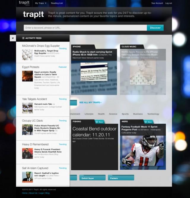 Trapit, un nouveau moteur de recherche par les créateurs de Siri