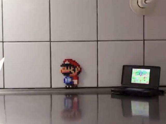 Vidéo : Mario dans la vraie vie et en stop motion