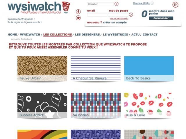 Wysiwatch, un site pour personnaliser votre montre