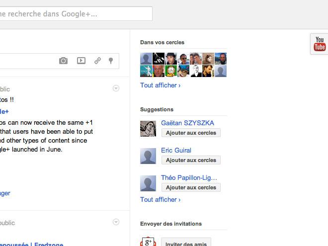 YouTube maintenant intégré à Google+