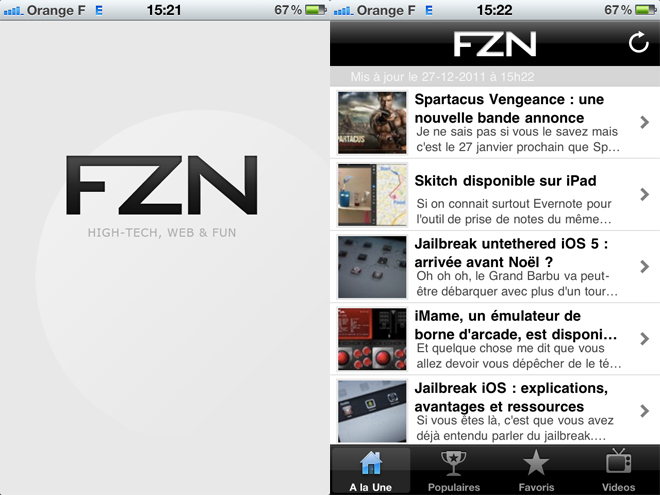 La Fredzone maintenant disponible sur ton mobile !