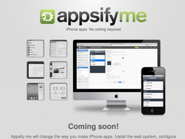 LeWeb'11 : présentation de Appsify.me