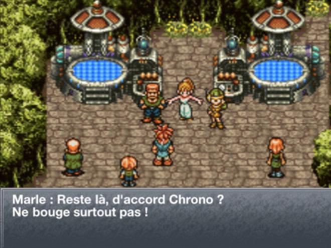 Chrono Trigger est disponible sur iPhone, iPod Touch et iPad