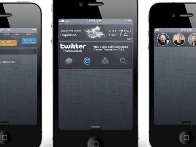 Vidéo : de chouettes concepts pour iOS
