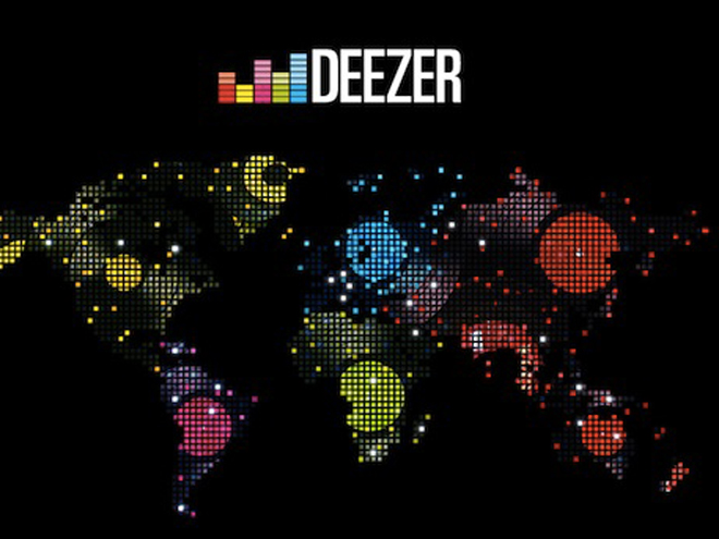 Deezer se lance à l'international en 2012