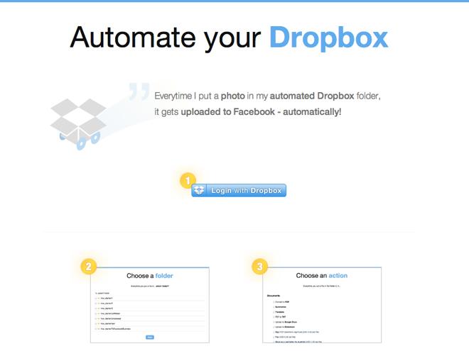 Dropbox Automator, pour automatiser le traitement de vos fichiers avec Dropbox