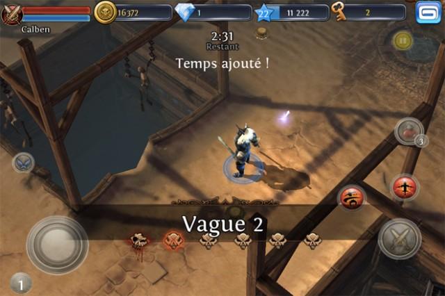 Test : Dungeon Hunter 3 sur iPhone