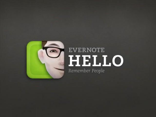 LeWeb'11 : Evernote lance deux nouveaux outils, Evernote Hello et Evernote Food