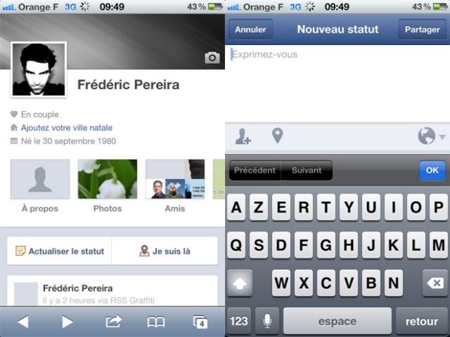 Facebook Timeline est disponible sur Android... et aussi un peu sur iOS