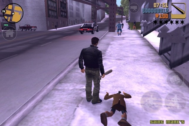 Test : Grand Theft Auto 3 sur iPhone