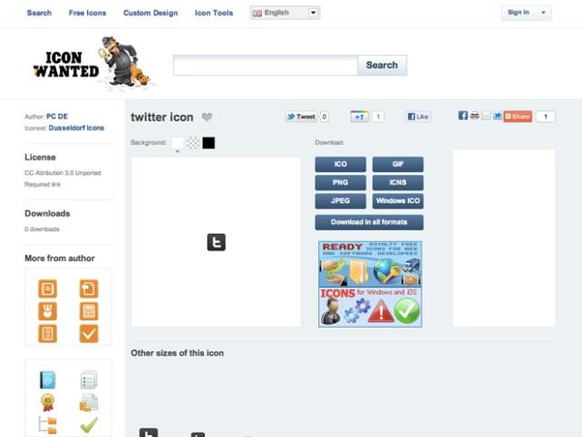 Icon Wanted, un nouveau moteur de recherche d'icônes