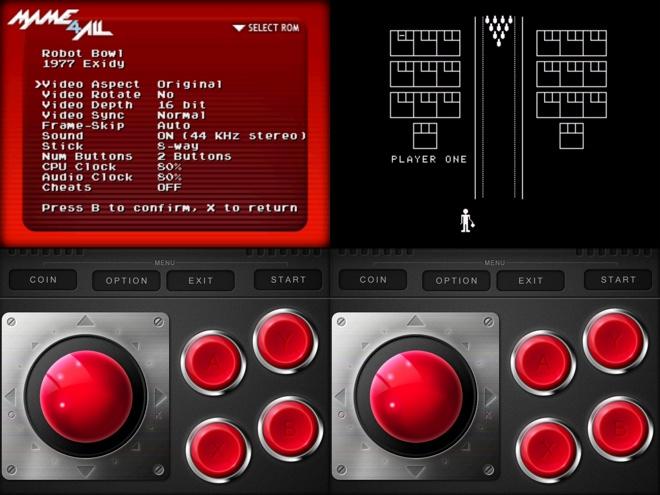 iMame, un émulateur de borne d'arcade, est disponible sur l'AppStore