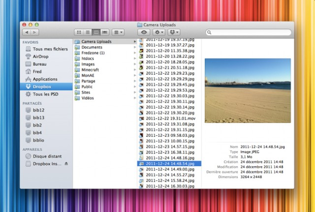 Dropbox peut maintenant importer tes photos et tes vidéos