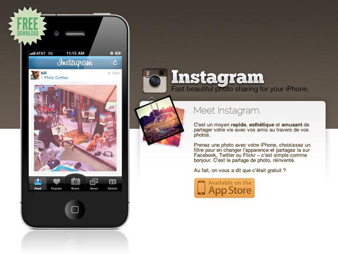 LeWeb'11 : Instagram va arriver sur Android... prochainement