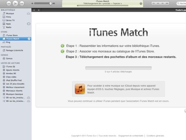 Tutoriel : iTunes Match, s'abonner et configurer le service