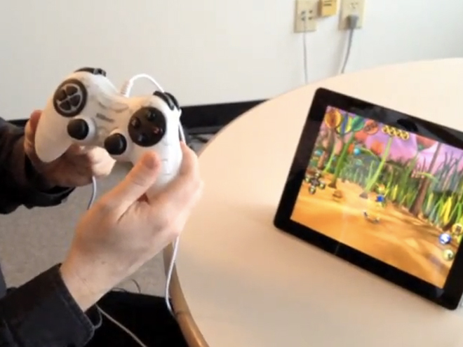 60Beat GamePad, une manette pour iPhone, iPod Touch et iPad