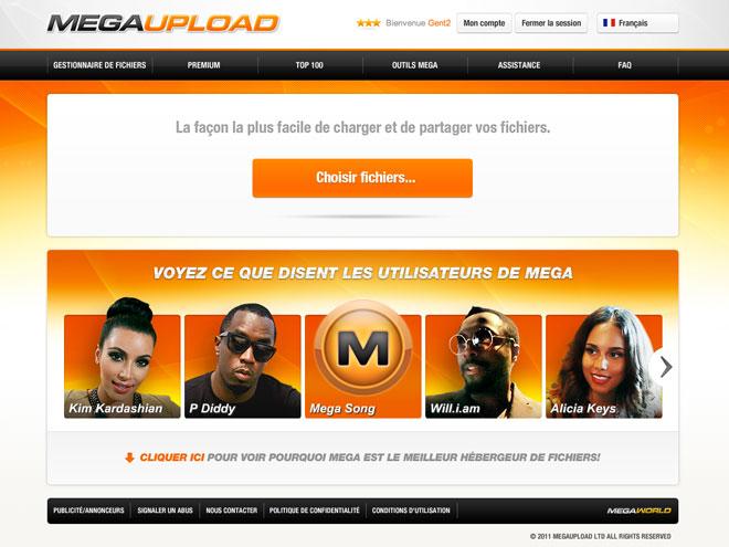 Megaupload : une refonte graphique et bientôt un nouveau service