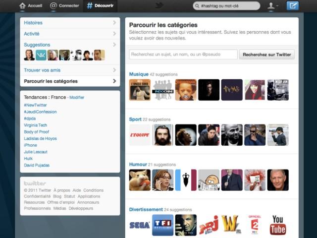 Twitter : une nouvelle version pour le portail web et pour les applications mobiles