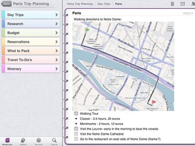 Microsoft OneNote déboule sur iPad