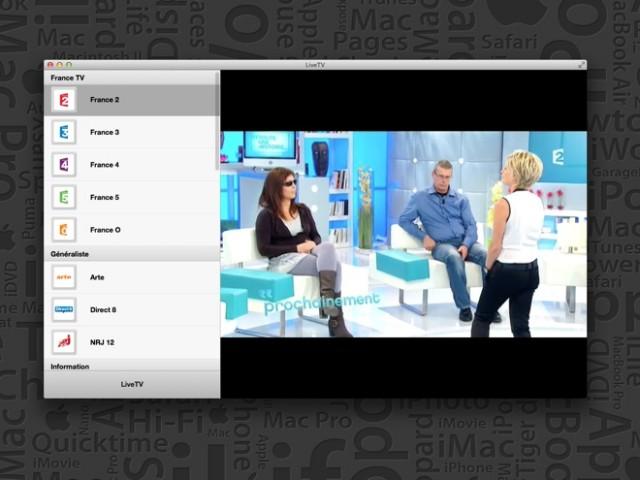LiveTV, pour regarder la télévision sur votre Mac