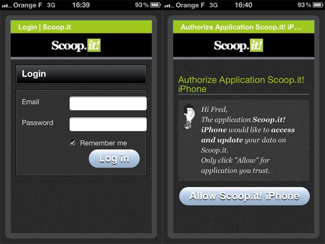 Scoop.it est maintenant disponible sur iPhone