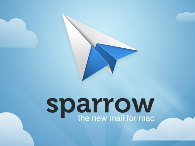 Sparrow 1.5 supporte désormais Dropbox