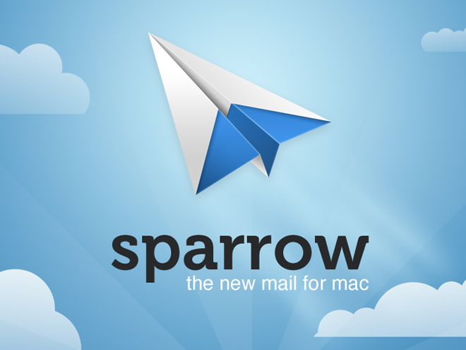Sparrow 1.5 supporte désormais Dropbox